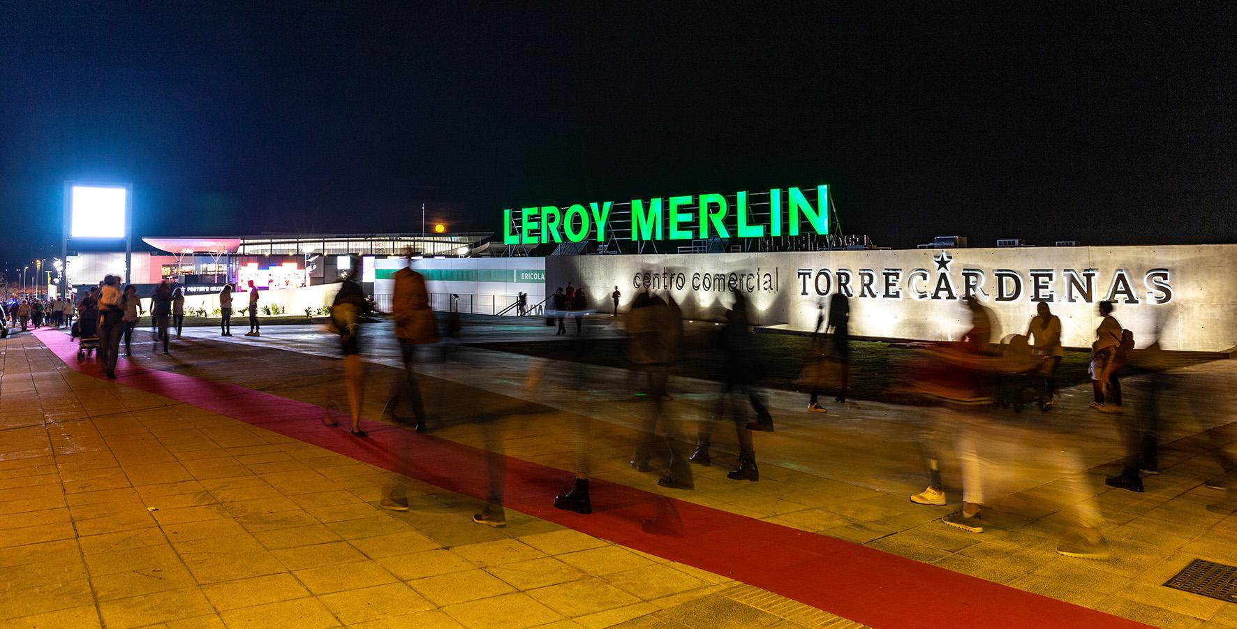 Centro comercial Torrecardenas Bogaris Leroy Merlin