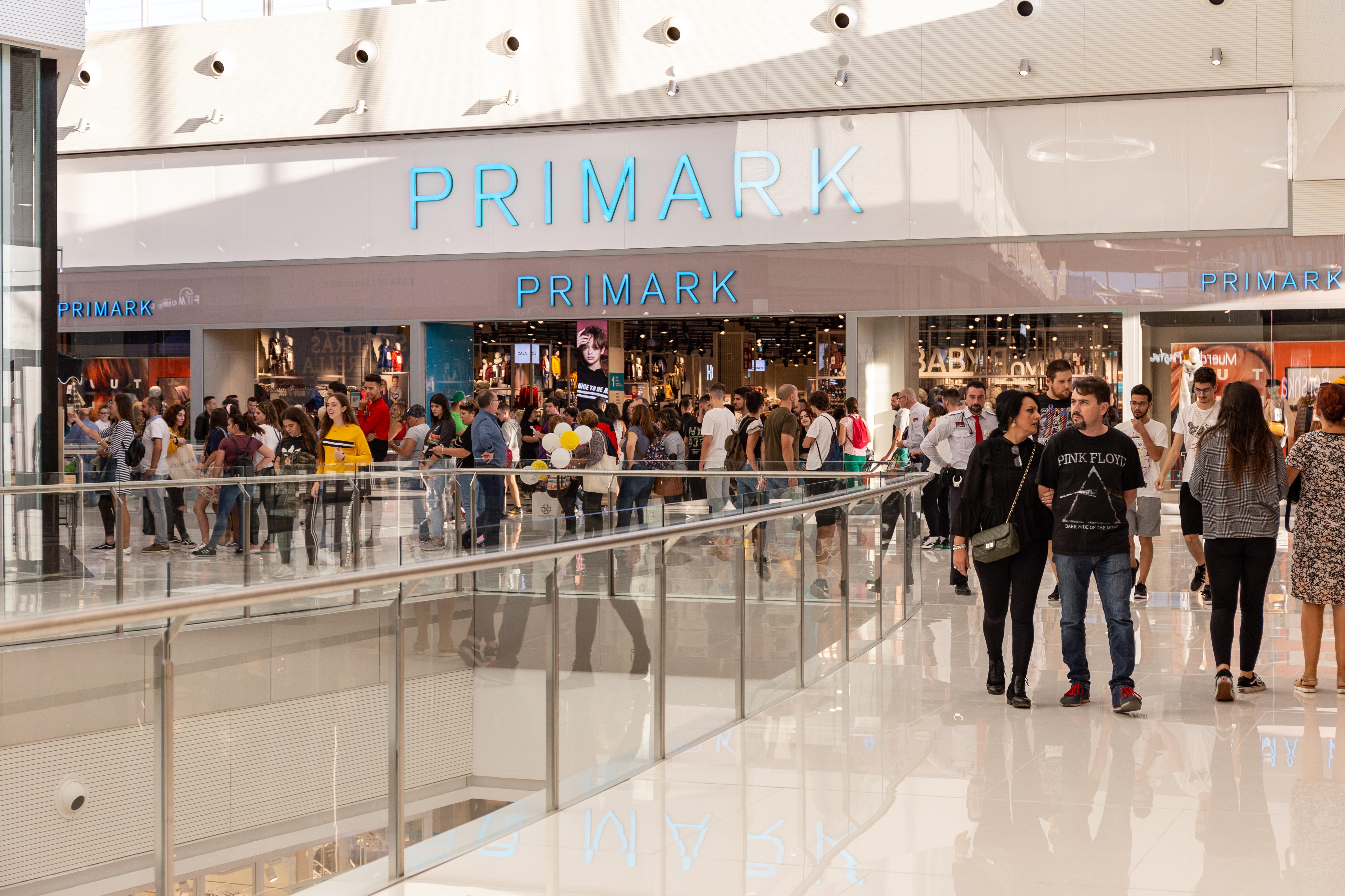 Centro comercial Torrecardenas Bogaris Primark
